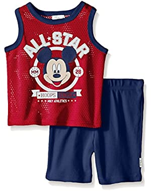 Baby Boys' Mickey Mouse Athletic Set