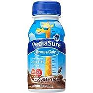 PediaSure Nutrition Shake, Chocolate, 8 Fl oz (Pack of 6)