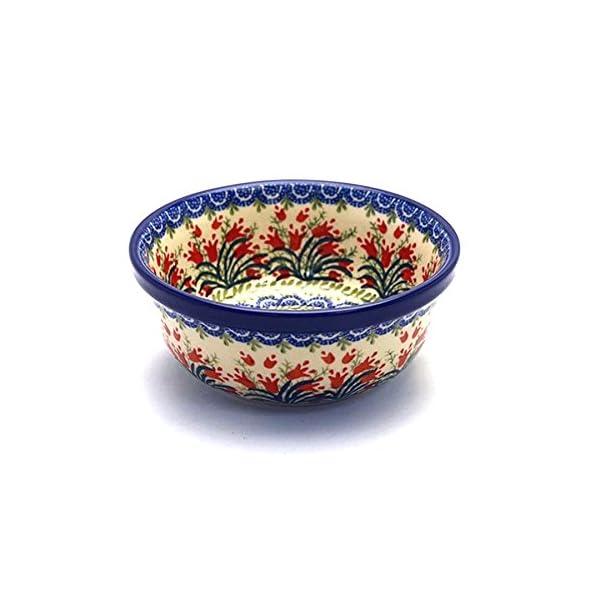 Polish Pottery Soup and Salad Bowl – Crimson Tulip