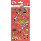 Paper Projects Charlie and Lola Large Foiled Stickers by Paper Projects