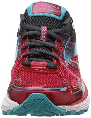 Brooks Vapor 4, Zapatos para Correr para Mujer Rosa (Virtual Pink/peacock Blue/anthracite)