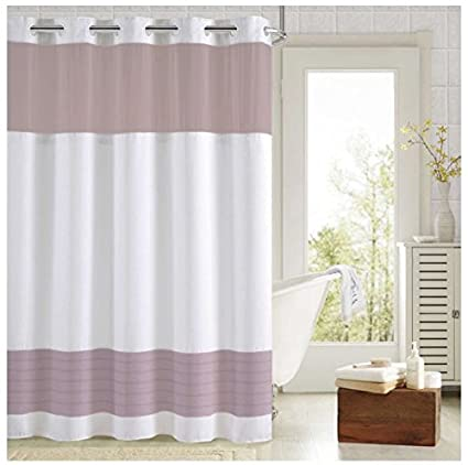 Image Unavailable Not Available For Color Aruba Pleats Block Shower Curtain
