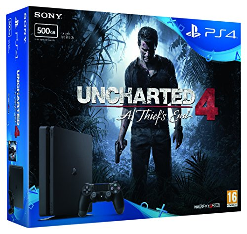 PlayStation Sony Playstation 4 500Gb With Uncharted 4 Bundle