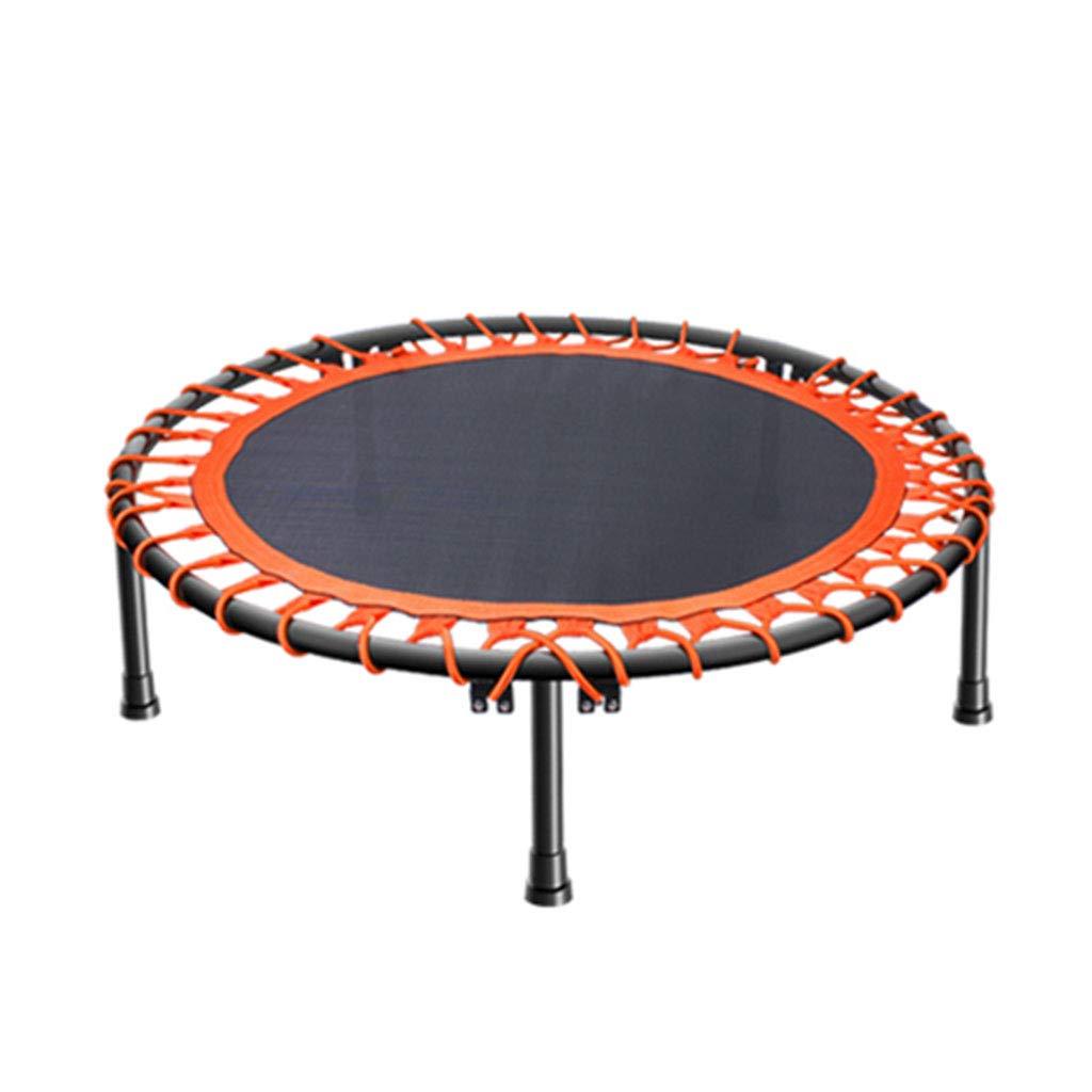 Trampolin Home-Fitness-Studio Indoor Erwachsenen stilles springenden (Farbe : Orange, Größe : 36inch)