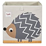 3 Sprouts Storage Box, Hedgehog, Gray