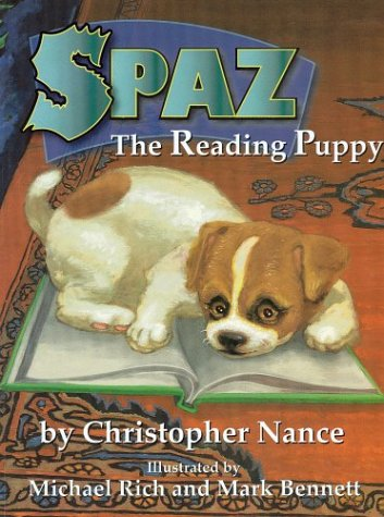 Spaz the Reading Puppy
