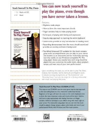 Alfreds Teach Yourself To Play Piano Everything You Need To Know
