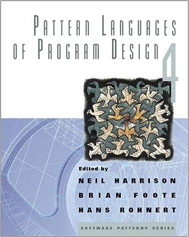 Pattern Languages of Program Design 4 (Software Patterns)