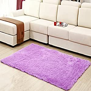 hughapy home decorator modern shag area rugs