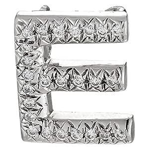 Eternal Jewels Ladies 18K White Gold Diamond Pendant