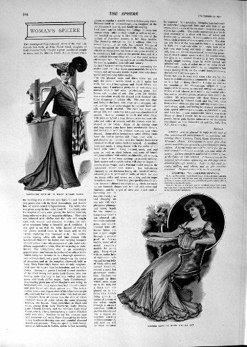 1901 Duke Cornwall Africa Ophir Ship Cape Town Arch Woodstock Ladies Fashion