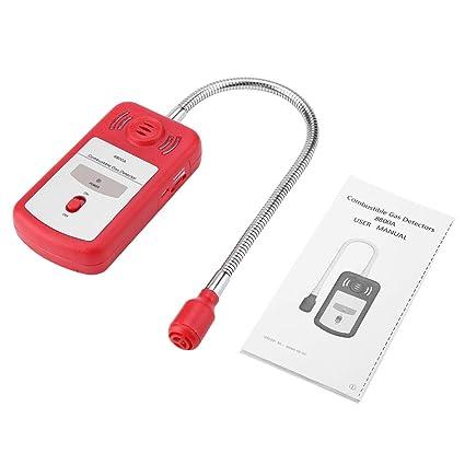 Detector de gas Combustible Detector de fugas de gas natural PT8800A Sniffer portátil con certificados RoHS