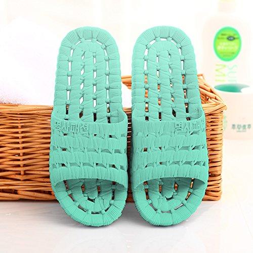 bagno estate cartoon pantofole verde1 DogHaccd donne pantofole indoor con home Il plastica cool antiscivolo Il una morbida in soggiorno maschio coppie pantofole bagno rUUnqREY