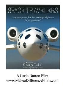 """Space Travelers"" Burt Rutan with George Takei"