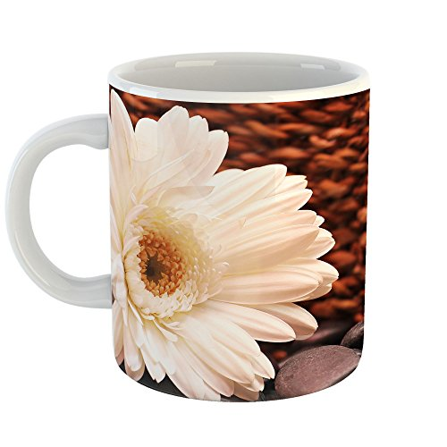 Westlake Art - Flower Daisy - 11oz Coffee Cup Mug - Modern Picture Photography Artwork Home Office Birthday Gift - 11 Ounce (9226-D746C) - Daisy Coffee Cup