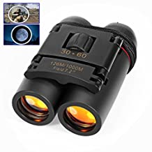 Pocket Size Compact 30X60 Telescopes Folding Binoculars For Birdwatching Watching Wildlife and Scenery Camping Sightseeing