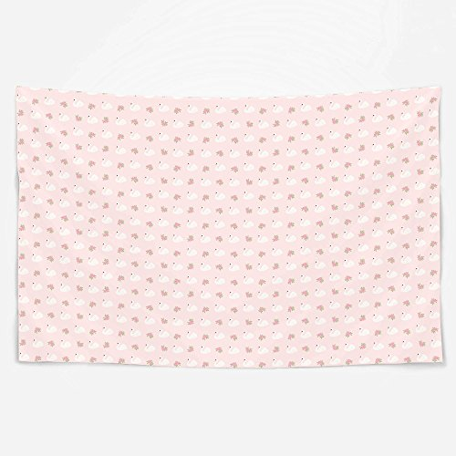 Carousel Designs Pink Swans Wall (Carousel Swan)