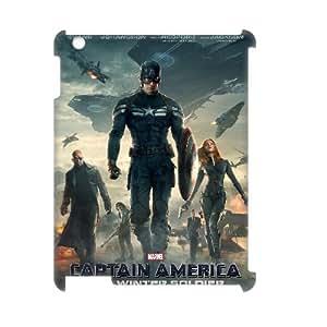 E-Shop - Pretty Captain America 2 Pattern 3D Effect Case for iPad 2,3,4 IG667770