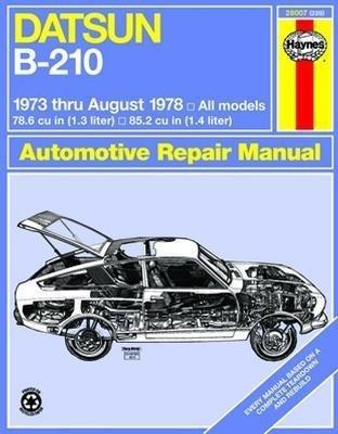 1978 datsun b 210 - 6