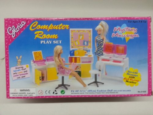 Amazon Com My Fancy Life Dollhouse Furniture Computer Room Play