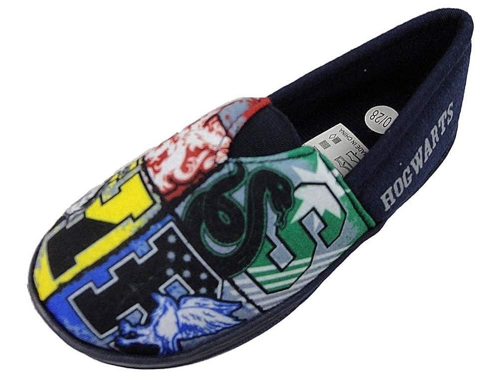 'Harry Potter' Boys Slippers Hogwarts Character House Slipper Shoes