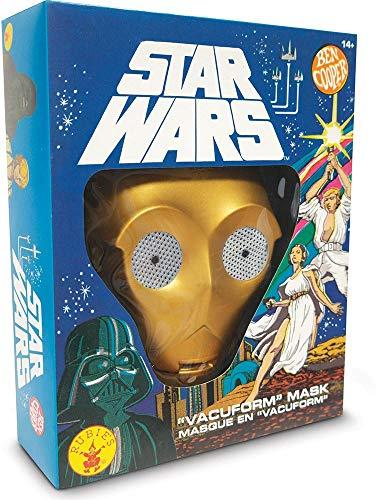 Star Wars Masks - Rubie's Unisex-Adult's C-3PO, one