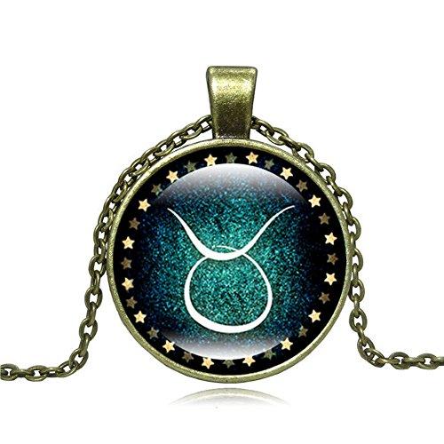 Zodiac Taurus Symbol Charm - 3