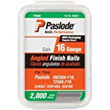 Paslode 650231 1-1/2-Inch by 16 Gauge 20 Degree Angled Galvanized Finish Nail (2,000 per Box)