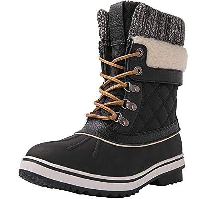 GLOBALWIN Women's Waterproof Winter Snow Boots | Snow Boots