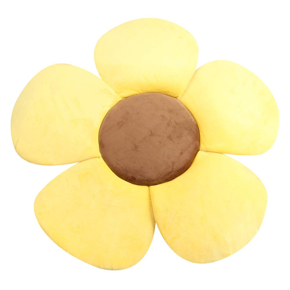 Yellow Baby Bath Support Flower Cushion Pad Foldable Soft Bath Mat Gold//Pink//Light Blue 28*28 Available in Sinks and bathtubs