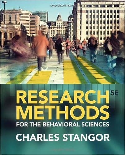 Download gratuito di libri mp3 Research Methods for the Behavioral Sciences PDF FB2