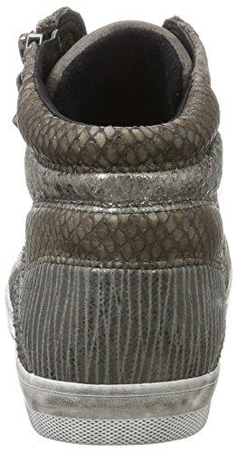 Gabor Comfort Basic, Scarpe Stringate Derby Donna Grigio (Elephant Micro)