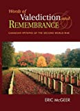 Valediction and Remembrance, Eric McGeer, 1551250950