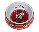 Sporty K9 DOG BOWL. - NCAA Licensed FEEDING BOWL. - Football/Basketball Feeding & Watering DOG & CATS BOWL. - Durable SPORTS PET BOWLS for DOGS & CATS. 2 Sizes available in 21 NCAA TEAMS