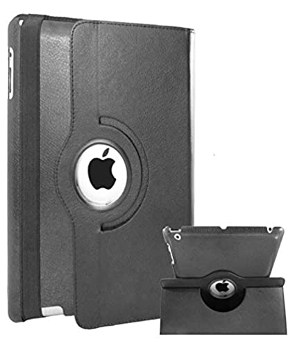 YGS 360 Rotate Book Case Cover ForApple iPad Air 2  Black Cases   Covers