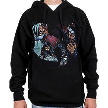 Wu-Wear GZA Liquid Swords Black Wu-Tang Clan Wu Tang Hoody Hoodie Sweater