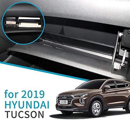 QCYSTBTG Bo/îte de Rangement Centrale de Voiture pour Hyundai Tucson TL 2015-2019 int/érieur de Voiture accoudoir Central bo/îte de Rangement bo/îte Plateau de Stockage daccoudoir de Voiture