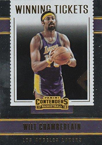 (2017-18 Panini Contenders Winning Tickets #6 Wilt Chamberlain Basketball Card )