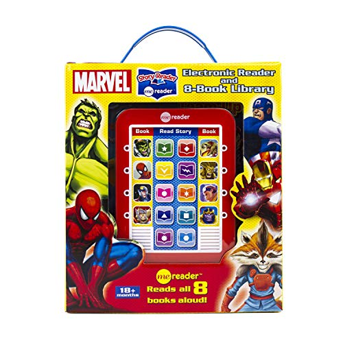 Marvel Super Heroes - Me Reader Electronic Reader with 8 Book Library -  PI Kids]()