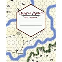 Dungeon Master's Hex Notebook: 7.5x9.25 Hex Gaming Paper, Dungeons and Dragons Hex Paper, DnD Journal, RPG Journal, Campaign Notes (DnD Notebook)