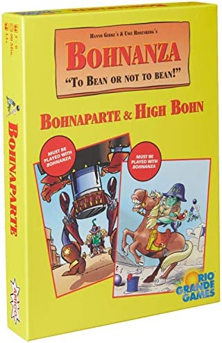 Bohnanza: High Bohn Plus Bohnaparte Card Game