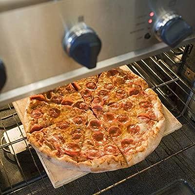 Piedra de pizza, pericia culinaria, 12 x 12 piedras para horno ...