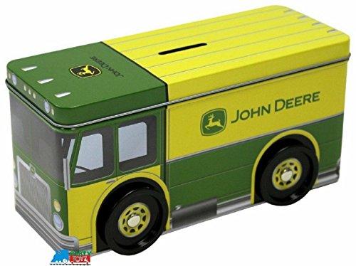 The Tin Box Company 862407-12 John Deere Truck Bank