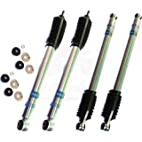 Bilstein B8 5100 Kit 4 Shocks For 2005-2015 Ford F-250 4WD 6' Front & 4' Rear inch Lift Ride Monotube Gas Charged Series Replacement Shock Absorbers