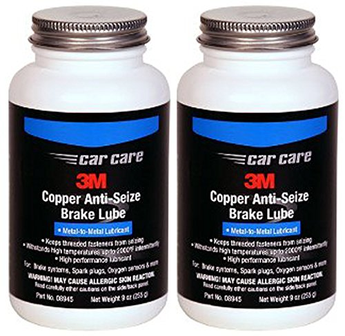3M Copper Anti Seize Brake Lube (9 oz) - 2 Pack