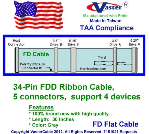 FD / Floppy Cable, 3.5