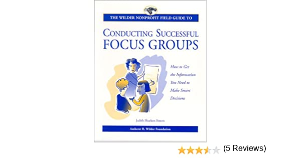 Amazon.com: The Wilder Nonprofit Field Guide to Conducting ...