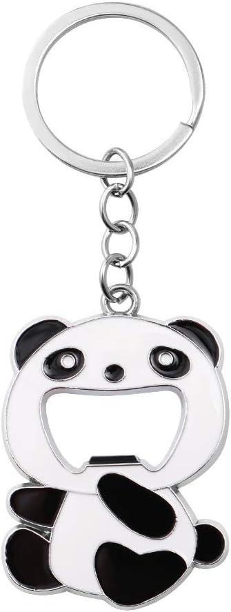 TOYMYTOY 2.4Inch Panda Bottle Opener Keychains Cute Chinese Panda Beer Soda Wine Bottle Opener