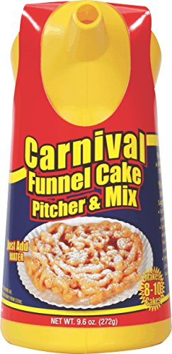 Funnel Cake Ring - Fun Pack Foods • Carnival Funnel Cake Pitcher & Mix