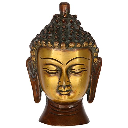 Small Antique Buddha Head - 2